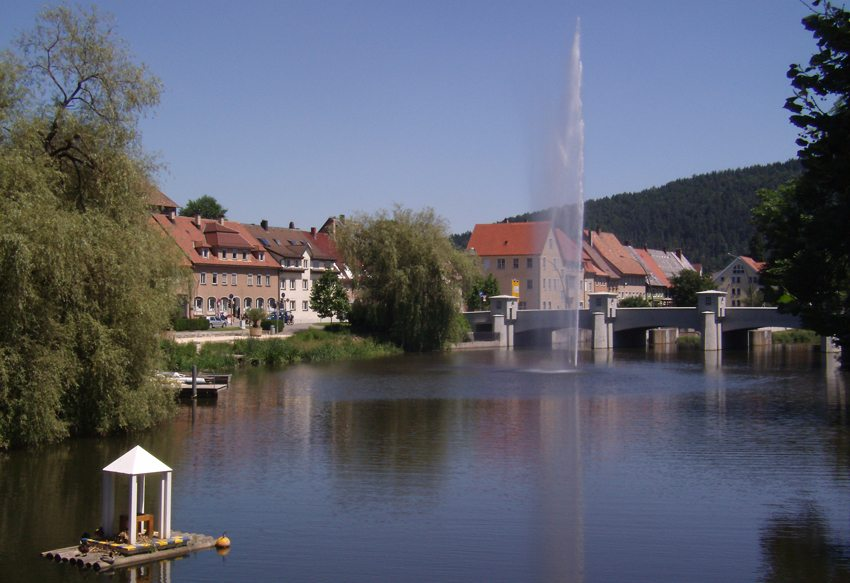 Donau in Tuttlingen (Bild: DH  / pixelio.de)
