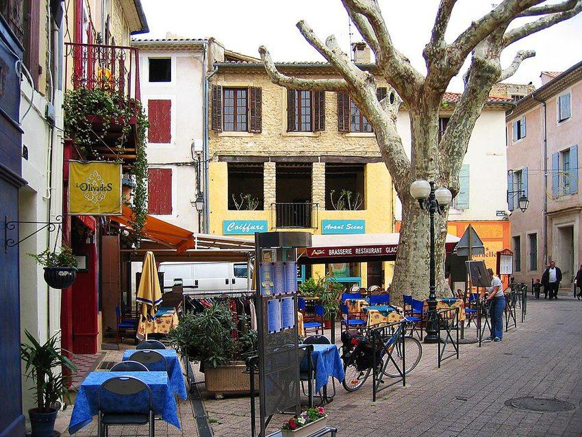In der Altstadt von Orange, Frankreich  (Bild: Daniel Clerc, WIkimedia, CC)
