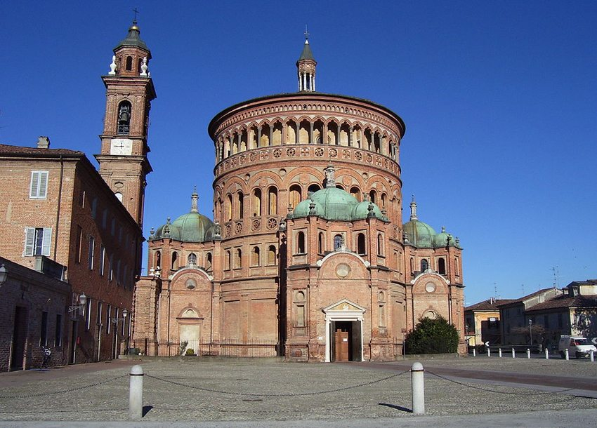 Die Wallfahrtskirche Santa Maria della Croce in Crema (Bild: Michele Scandelli, Wikimedia)