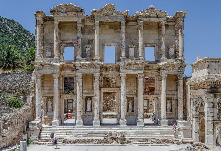 Celsus-Bibliothek in Ephesos (Bild: Benh LIEU SONG, WIkimedia, CC)