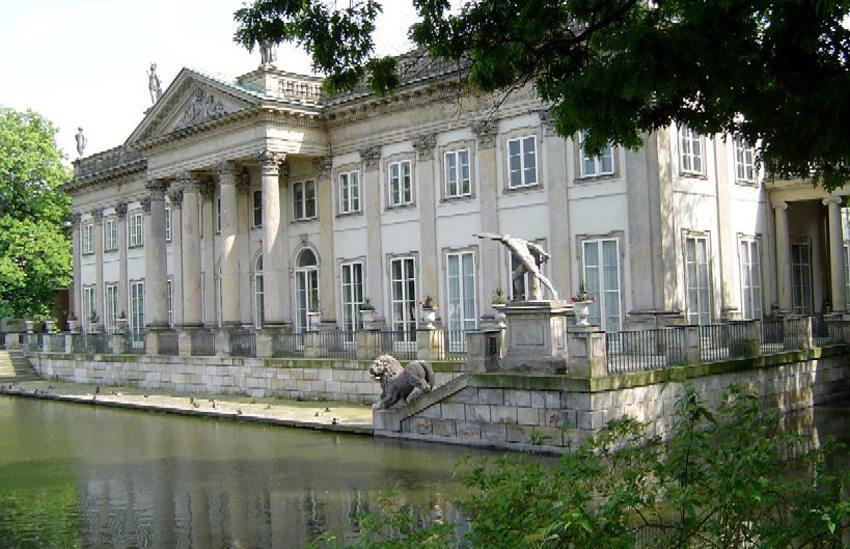 Łazienki-Palast in Warschau (Bild: Andrzej Barabasz, Wikimedia, CC)