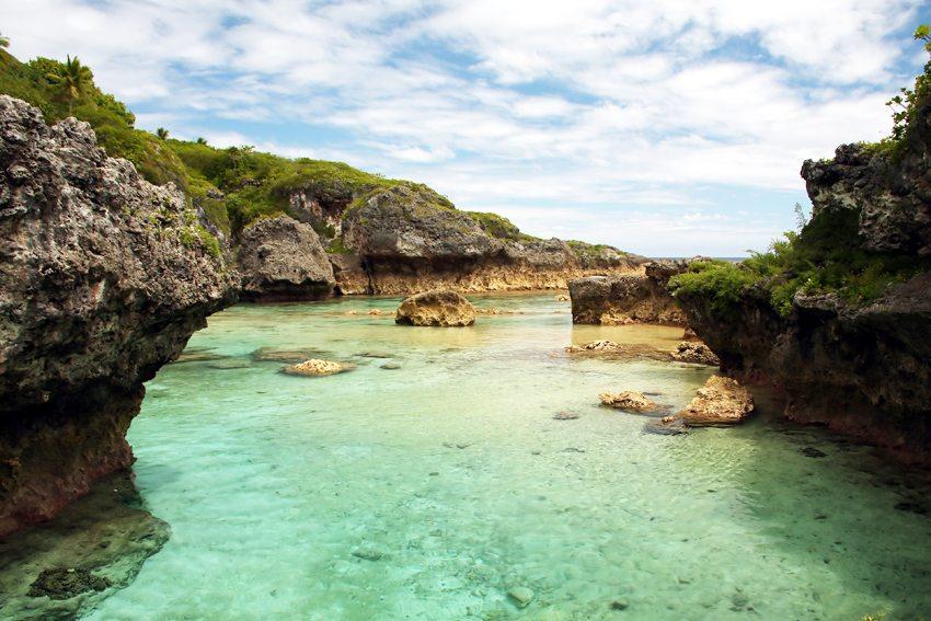 Limu Pools and der Nord-West-Küste von Niue (Bild: tn_photography, Wikimedia, CC)