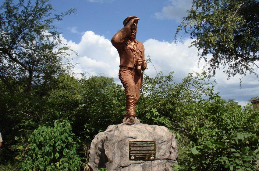 David-Livingstone-Denkmal in der Nähe von Victoria Falls, Sambia (Bild: Uttam h, Wikimedia, CC)