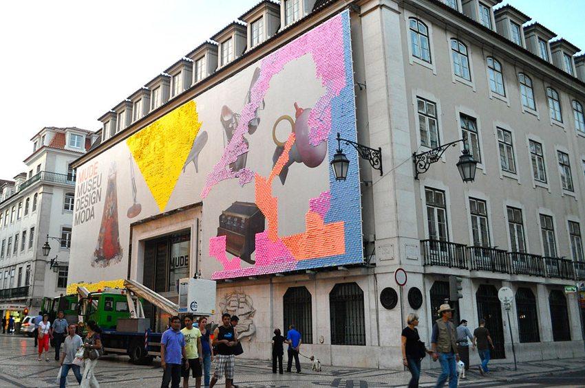 Die Fassade des Museums MUDE in Lissabon (Bild: Sharon Hahn Darlin, WIkimedia, CC)