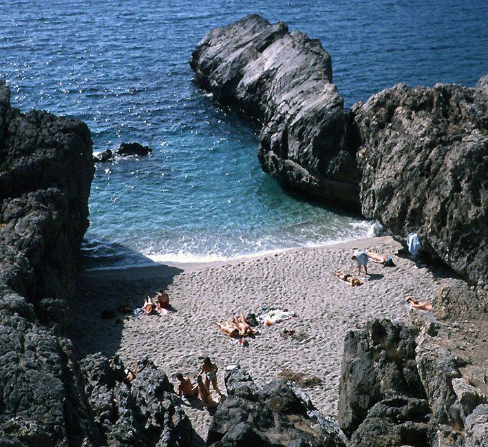Griechenland – kleine Bucht bei Plakias im Oktober  (Bild: Apeto, Wikimedia, CC)