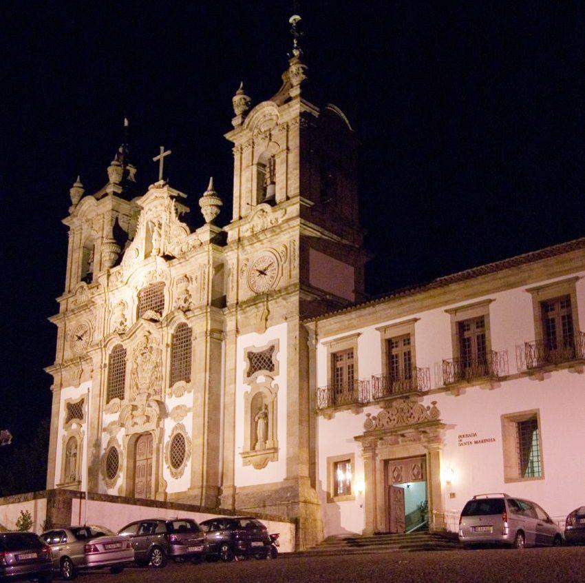Pousada Santa Marinha in Penha bei Guimarães (Bild: Feliciano Guimarães, Wikimedia, CC)