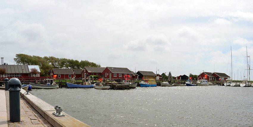 Ringkøbing-Fjord, Dänemark -  Hafenpanorama (Bild: Dirk Vorderstraße, Wikimedia, CC)