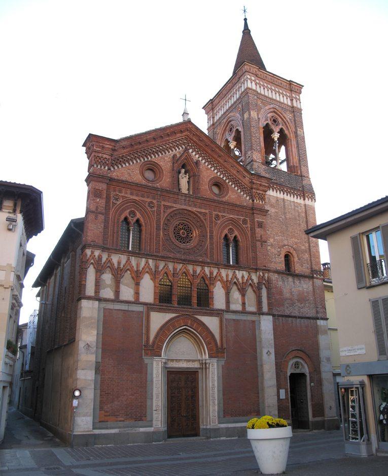 Kirche Santa Maria in Strada in Monza (Bild: Francescogb, Wikimedia, CC)
