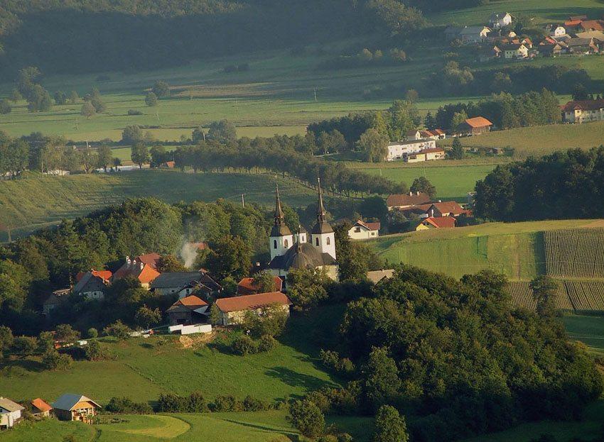 Vesela Gora in der Nähe von Okrog, Slowenien (Bild: Ines Zgonc, Wikimedia, CC)