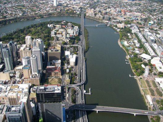 Aerial view von Brisbane (Bild: © Brisbane - shutterstock.com)