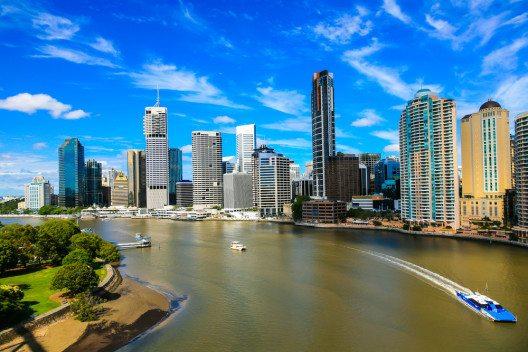 Brisbane ist erst 190 Jahre alt. (Bild: © Phillip Kraskoff - shutterstock.com)