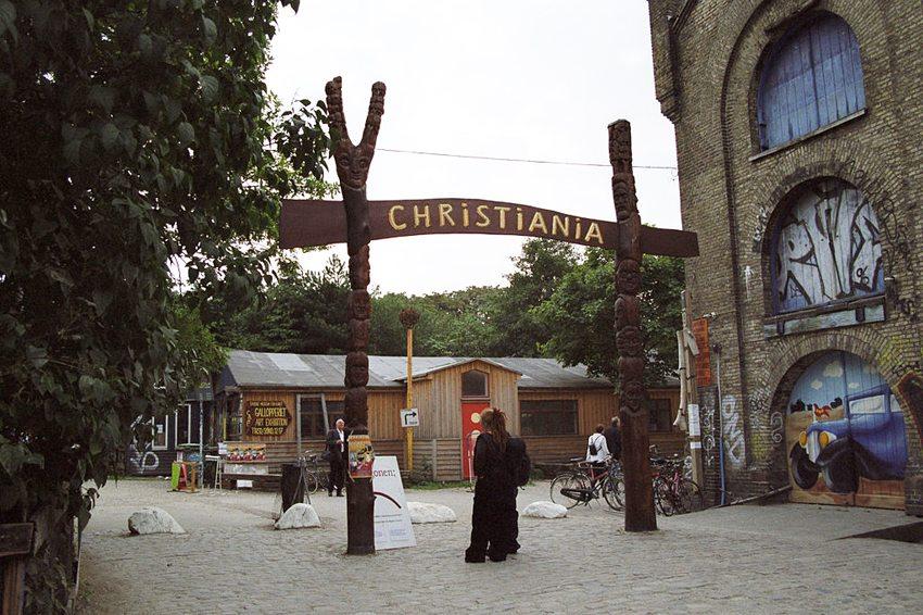 Die Freistadt Christiania in Kopenhagen (Bild: Bruno Jargot, Wikimedia, CC)