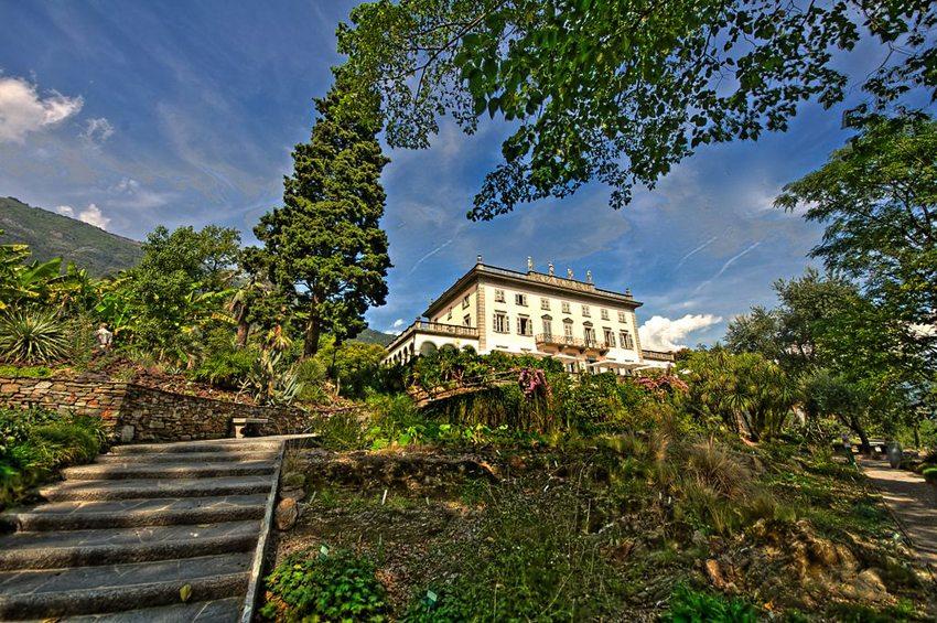 Villa Emden auf Brissago-Inseln (Bild: Diriye Amey, Wikimedia, CC)