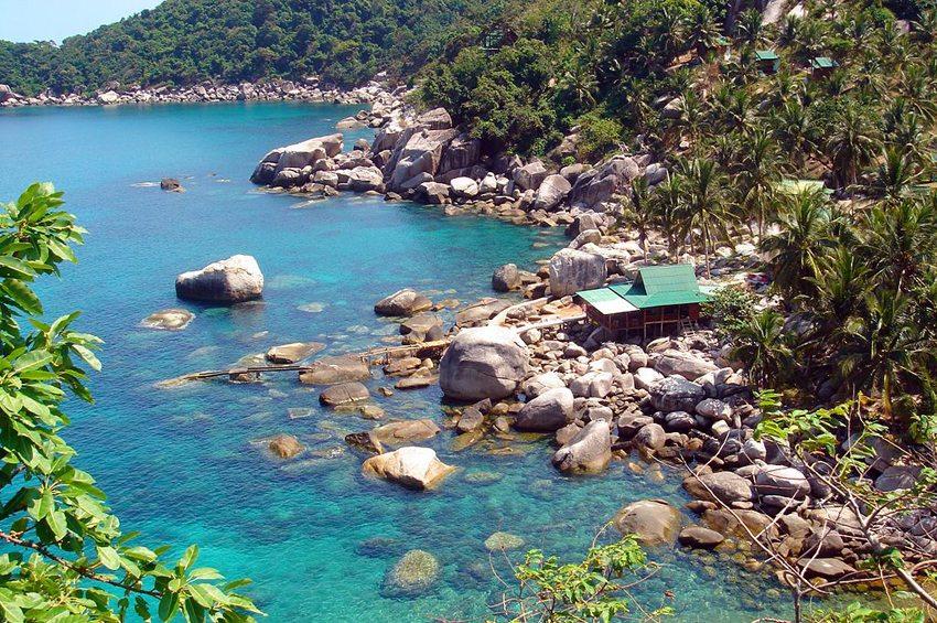 Hing Wong Bay auf Ko Tao in Thailand (Bild: Franz Winter, WIkimedia, CC)