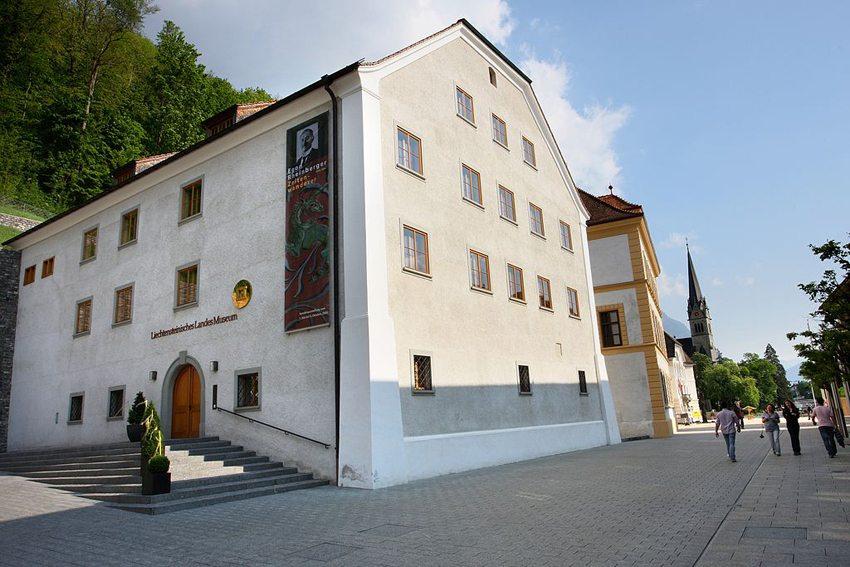 Liechtensteinisches Landesmuseum in Vaduz (Bild: Presse- und Informationsamt Vaduz, Wikimedia, CC)