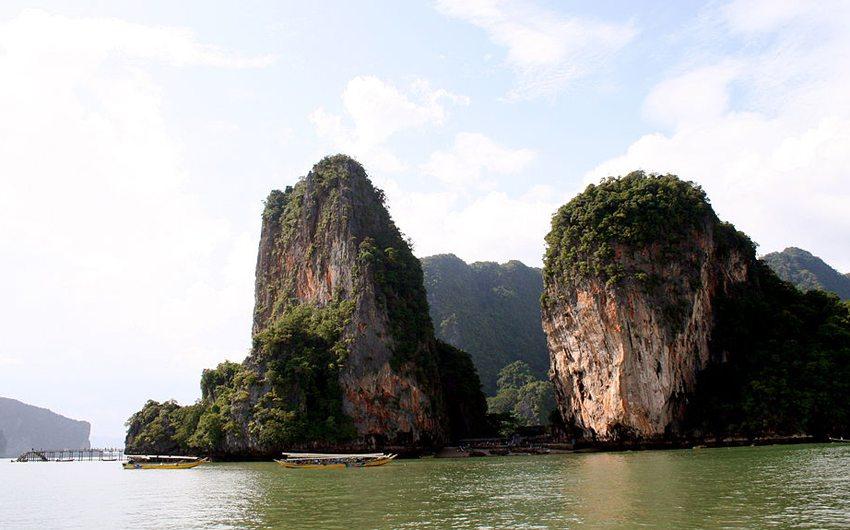 Die Landschaft auf Ko Phuket (Bild: Harry Alverson, Wikimedia, CC)