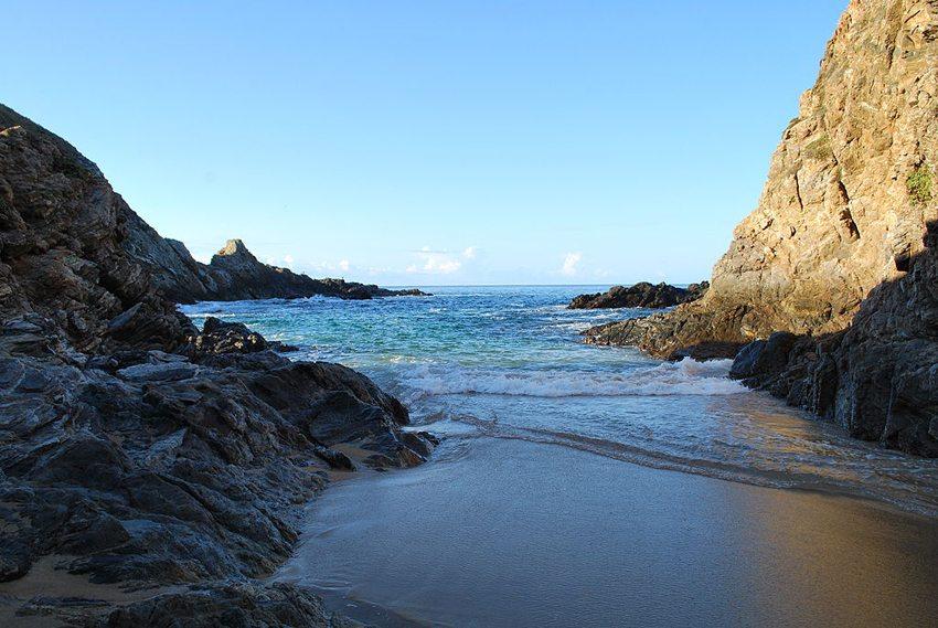 Romantik pur auf dem Hidden Beach in Mexico (© AlejandroLinaresGarcia, Wikimedia, GNU)