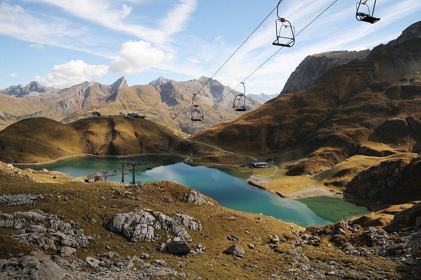 Der Zürsersee in den Lechtaler Alpen (Bild: böhringer friedrich, Wikimedia, CC)