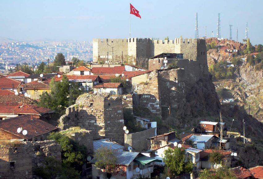 Die Zitadelle von Ankara (Bild: David Stanley, Wikimedia, CC)
