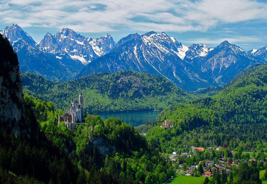 Fürstentum Liechtenstein bezaubert durch seine wunderschöne Natur. (Bild: Kyle Taylor, Wikimedia, CC)