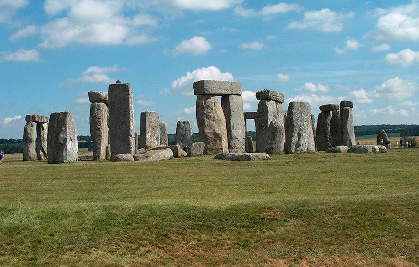 Prähistorisches Monument – Stonehenge (Bild: Guenter Wieschendahl, Wikimedia)