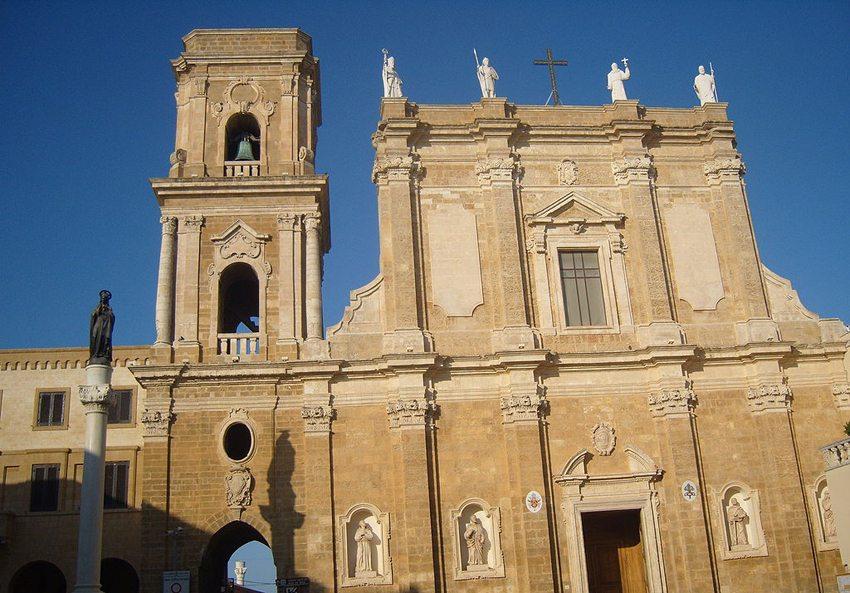 Die Kathedrale von Brindisi (Bild: Freddyballo, Wikimedia, CC)