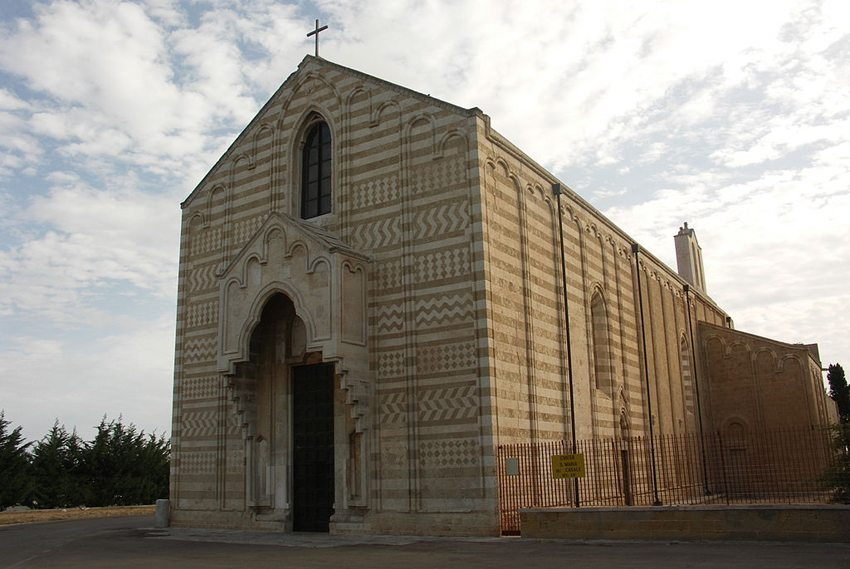 "Die Kirche ""Santa Maria Casale in Brindisi (Bild: Roberto sernicola, WIkimedia)"