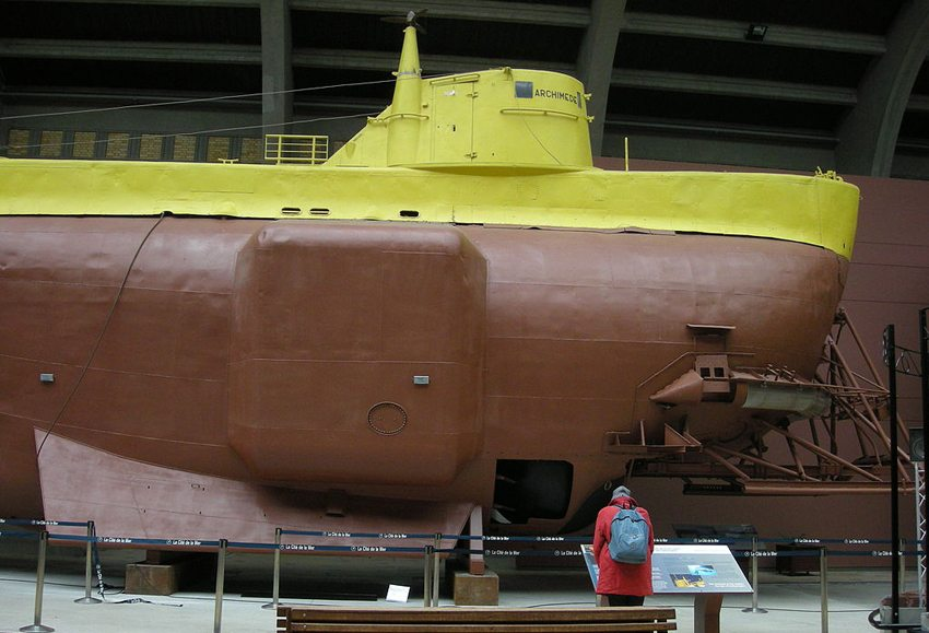 "Im Museum ""La Cité de la Mer"" in Cherbourg-Octeville (Bild: Ji-Elle, Wikimedia)"
