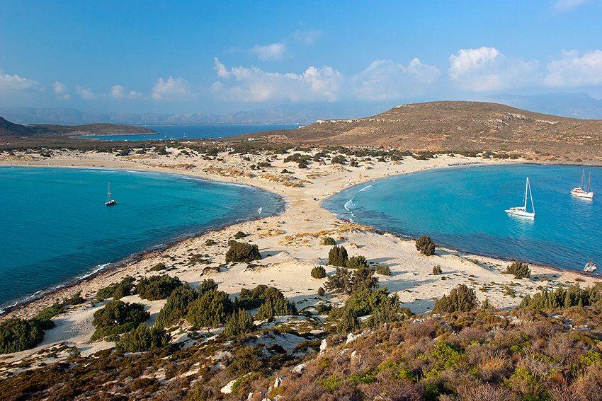 Elafonisos Beach auf dem Peloponnes (Bild: Νίκος Α. Κανελλόπουλος, Wikimedia, CC)