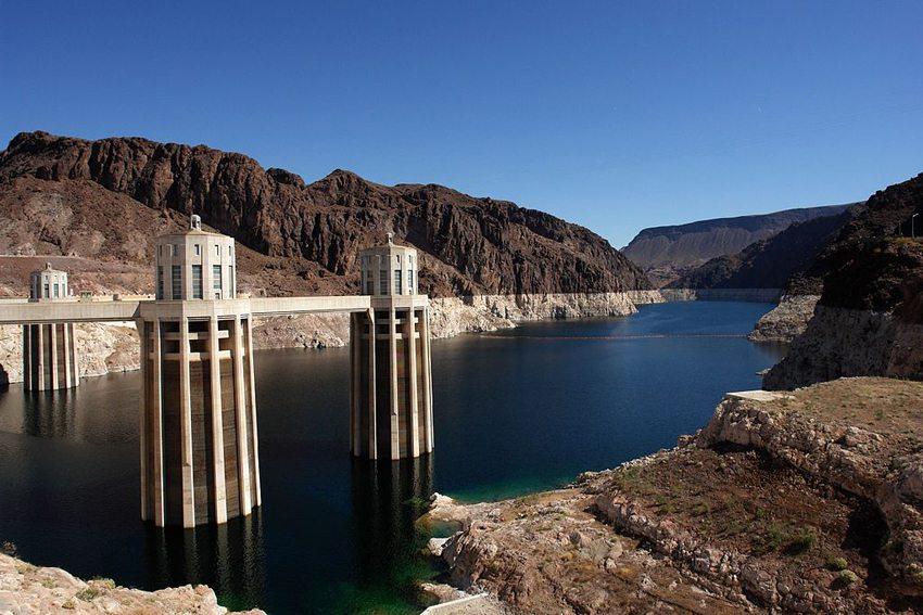Hoover Dam in der Nähe von Las Vegas (Bild: Alex Proimos, Wikimedia, CC)