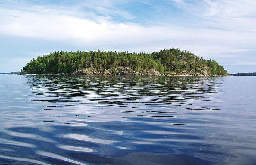 Insel im Linnansaari-Nationalpark (Bild: Walter Rodriguez, Wikimedia, CC)