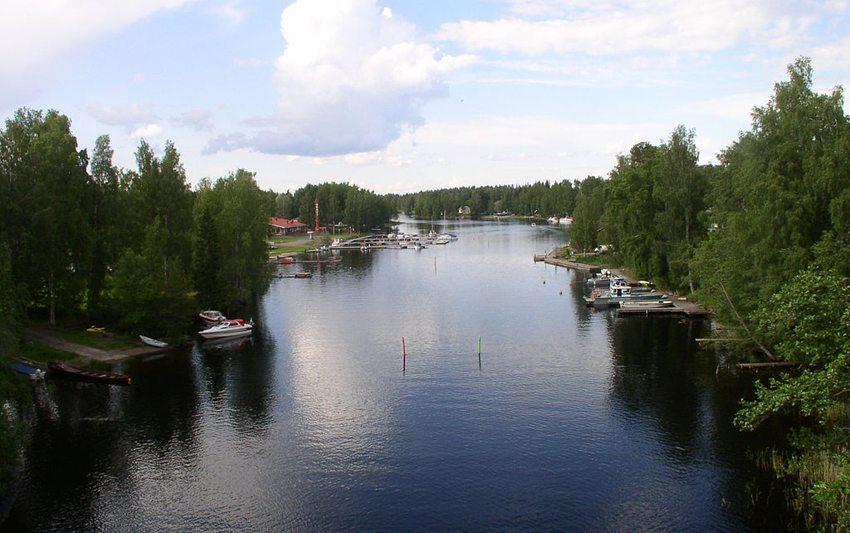 Oravi-Kanal (Bild: Antti Bilund, Wikimedia, GNU)