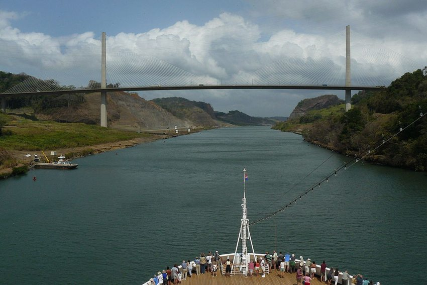 Gaillard-Durchstich, Centennial Bridge (Bild: Zandcee, Wikimedia, CC)