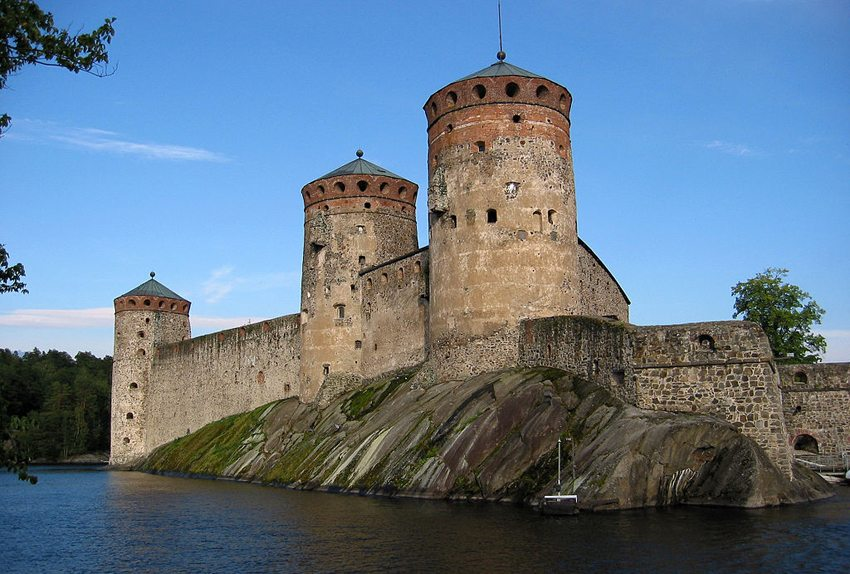 Die Festung der Stadt Savonlinna (Bild: Mikko Paananen, WIkimedia, CC)