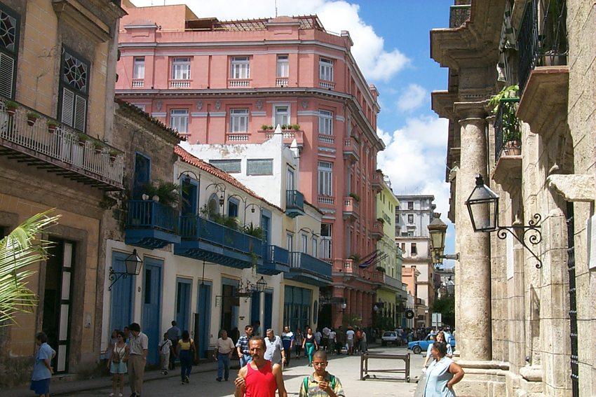 "Das Hotel ""Ambos Mundos"" in Havanna (Bild: Paul Mannix, Wikimedia, CC)"