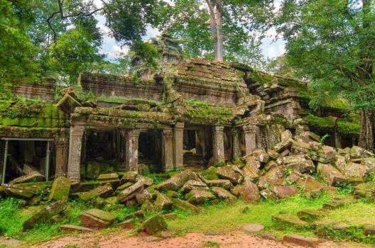 Die Khmer, die für den Bau dieser riesigen Tempelanlage verantwortlich sind, herrschten vom 9. bis zum 15. Jahrhundert. (Bild: © Della_Liner - shutterstock.com)