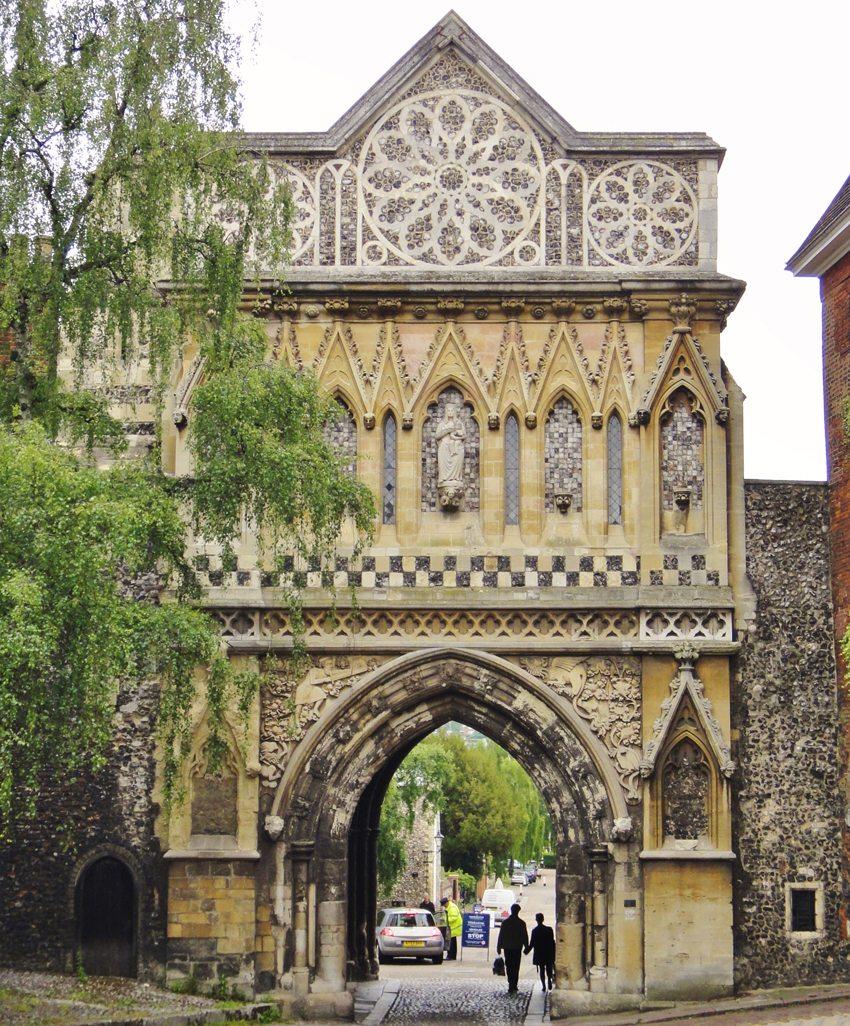 Ethelbert Gate, Norwich (Bild: Gareth Williams, Wikimedia,CC)