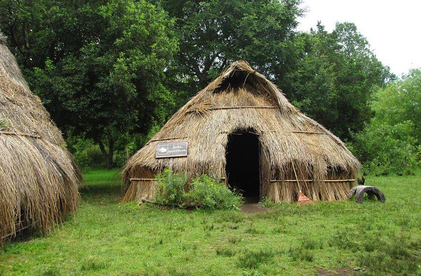 A Ruka – Mapuche-Hütte in Chile (Bild: order_242, Wikimedia, CC)