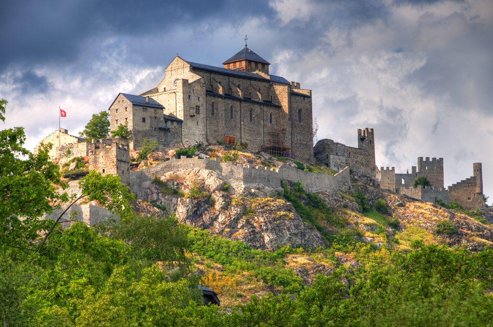 Auf der Burg Valére (Bild: © Krishna.Wu - shutterstock.com)