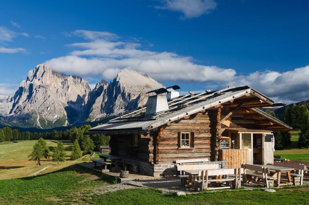 Die Berge auf der Alm (Bild: © Michael Thaler - shutterstock.com)