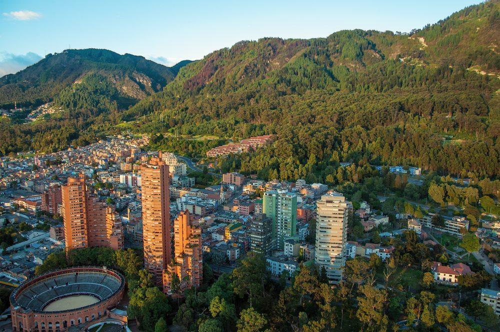 Die Hauptstadt: Santa Fe de Bogotá (Bild: © Jess Kraft - shutterstock.com)