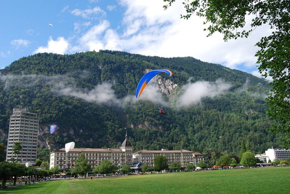 Hotel Victoria-Jungfrau in Interlaken, Kanton Bern (Bild: Dietrich Michael Weidmann, Wikimedia, GNU