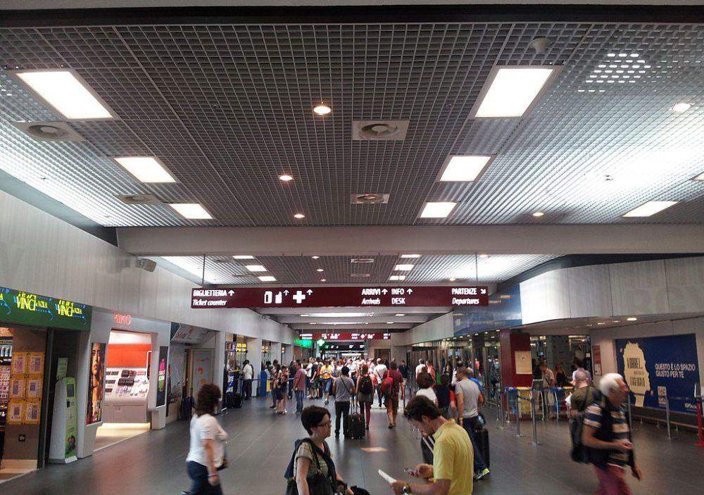 Flughafen Bergamo in Italien (Bild: Andrea Bertinotti, Wikimedia, CC)