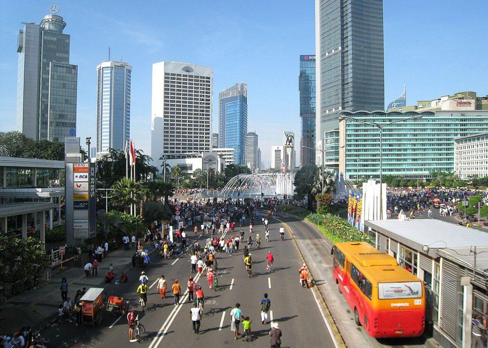 Autofreier Tag in Jakarta (Bild: Gunawan Kartapranata, Wikimedia, CC)