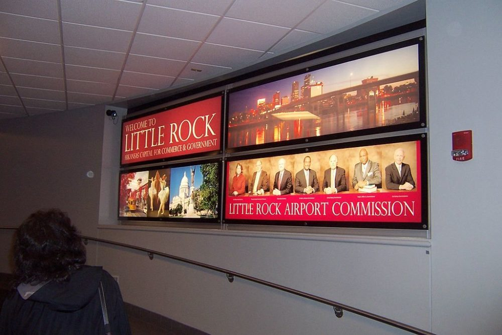 Bill and Hillary Clinton National Airport in Little Rock, USA (Bild: Wasted Time R, Wikimedia, CC)