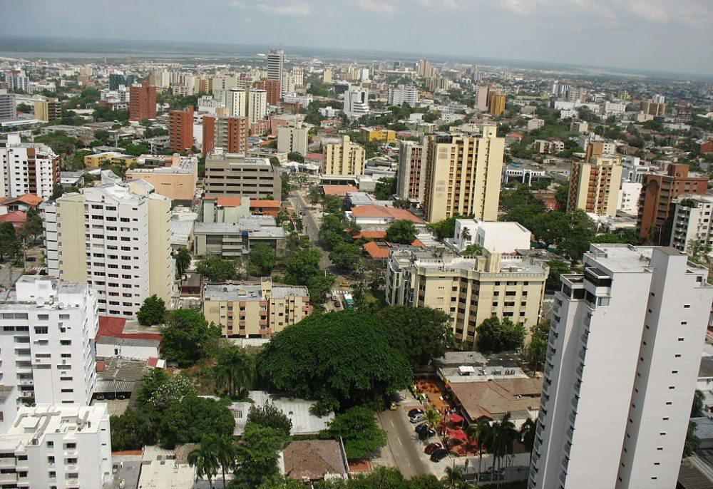Hochhäuser von Barranquilla (Bild: Jdvillalobos, WIkimedia, CC)