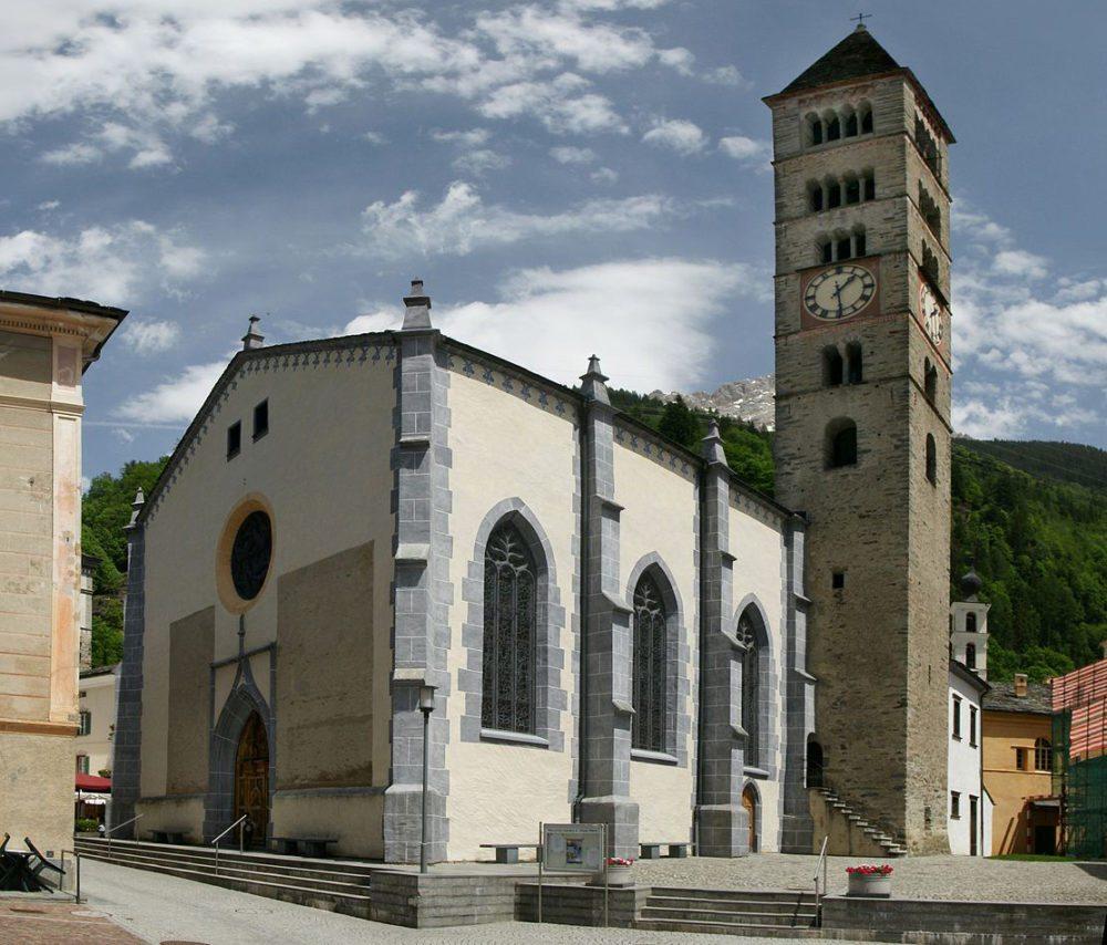 Kirche S. Vittore in Poschiavo (Bild: böhringer friedrich, Wikimedia, CC)