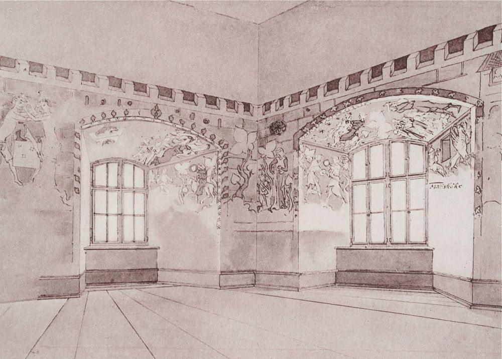 Wandmalereien des Waltensburger Meisters (Bild: © J. R. Rahn)