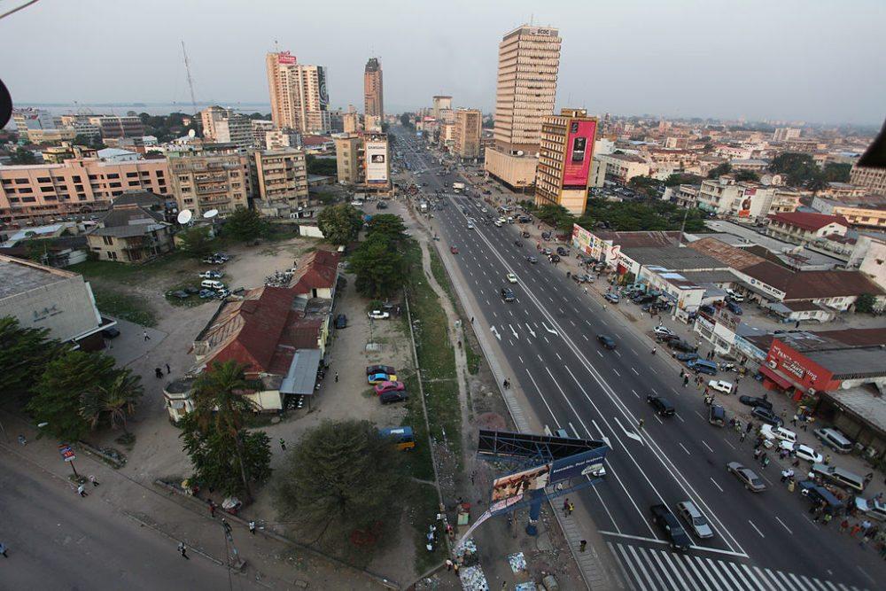 Stadtzentrum von Kinshasa, Kongo (Bild: MONUSCO/Myriam Asmani, Wikimedia, CC)