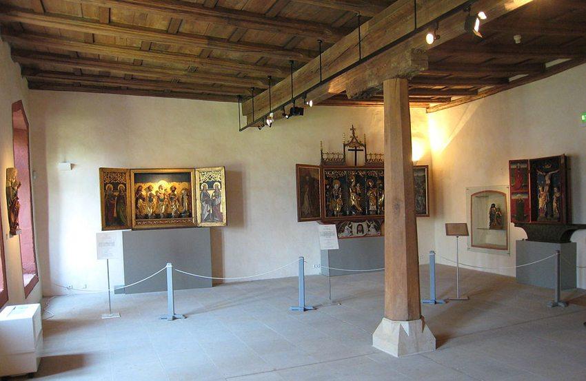 Ehemals Kapitelsaal im Franziskanerkloster Saalfeld (Bild: Giorno2, Wikimedia, CC)